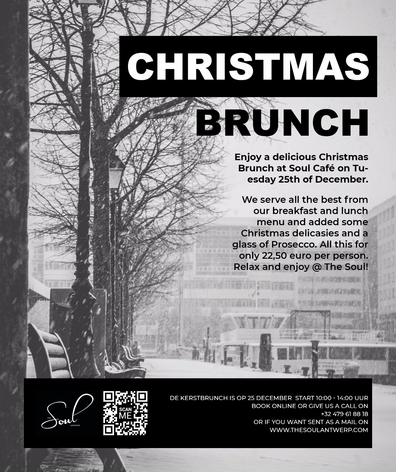 CHRISTMAS BRUNCH SOUL CAFE