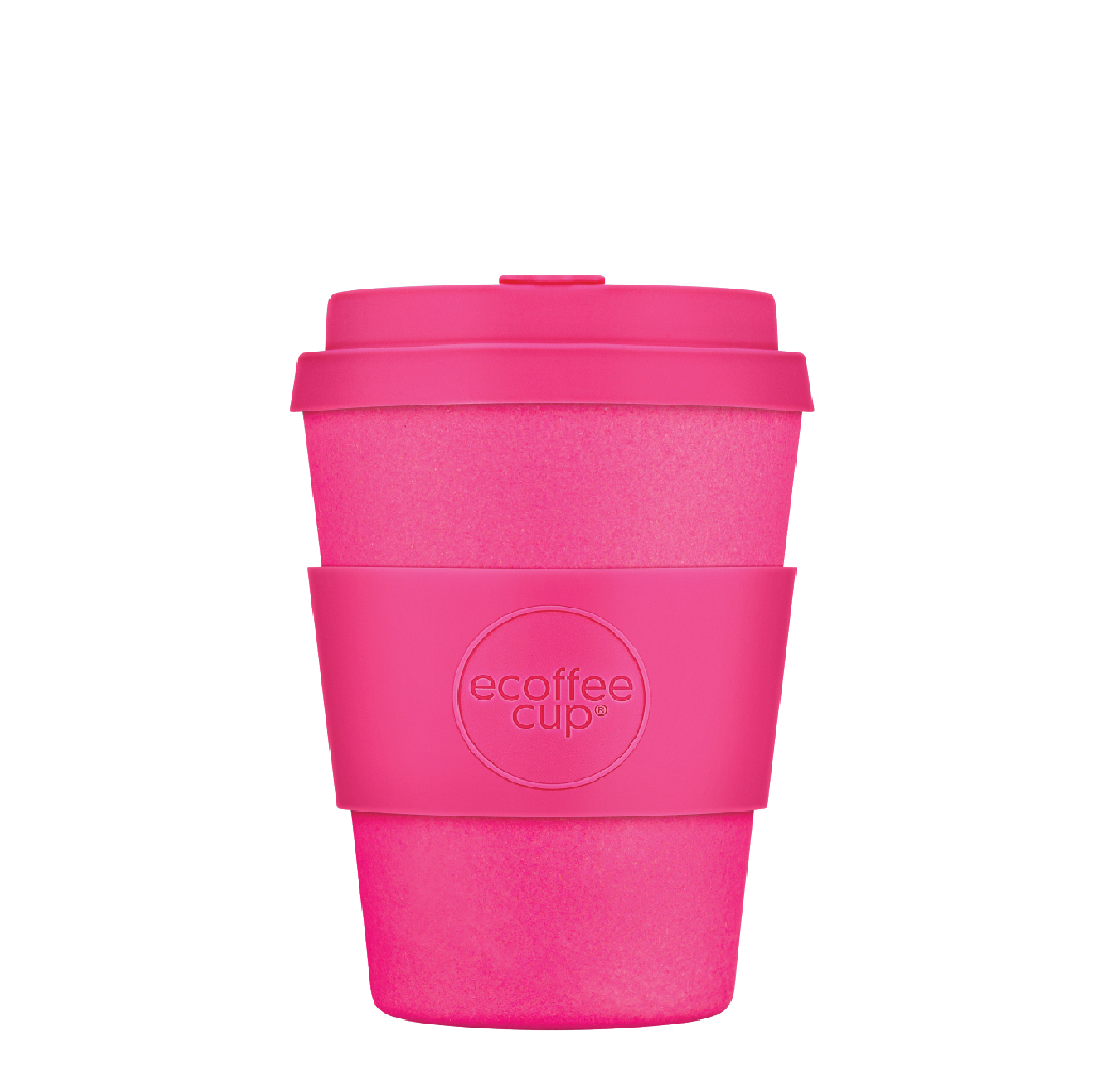 Reusable to go coffee cup Pink'd